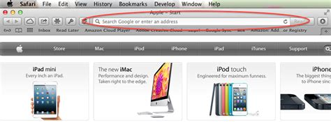 Search Or Enter An Address Cross Platform User Experience Inconsistencies Apple S Safari Sle The Web
