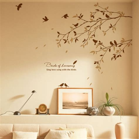 birds tree wall decals  nursery wallstickerycom
