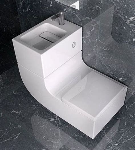 Space Saver Shower Baths 32 stylish toilet sink combos for small bathrooms digsdigs