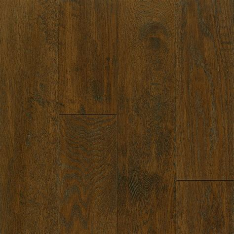 Inch Engineered Hardwood Flooring Bruce 5 Inch X 3 8 Inch Av Oak Mocha Engineered Handscraped Wood Floor 25 Sq Ft The