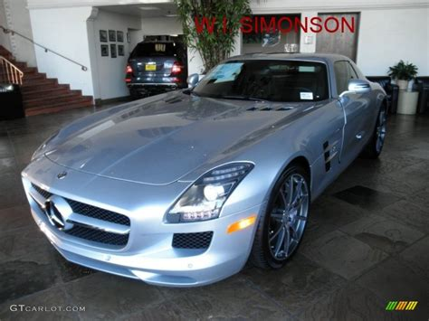 2012 iridium silver metallic mercedes sls amg 53244364 gtcarlot car color galleries