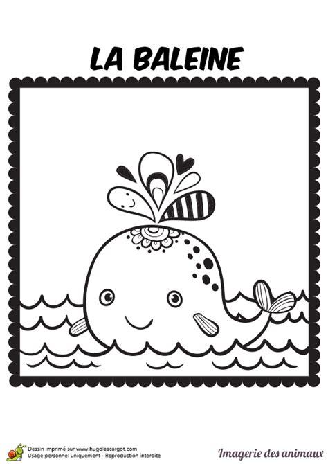 la baleine et lescargote coloriage imagerie des animaux la baleine hugolescargot com