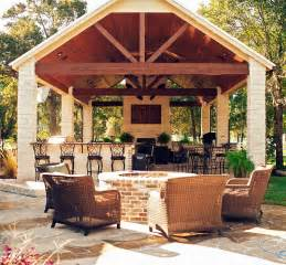 Outdoor Kitchen And Fireplace Designs by Design Build Firms Outdoor Kitchen Patio Decor Bar