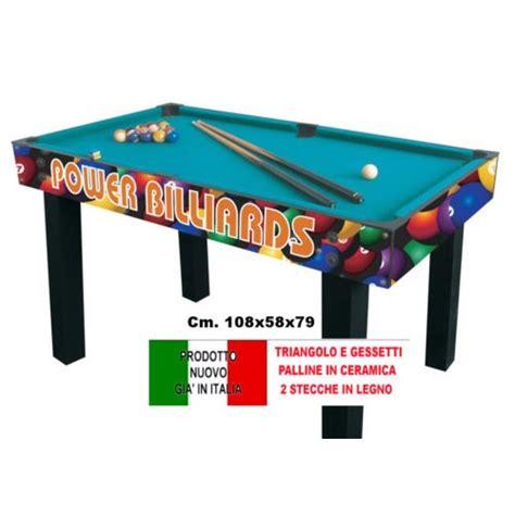 tavolo da biliardo misure biliardo power multi tavolo da biliardo stecche in legno e