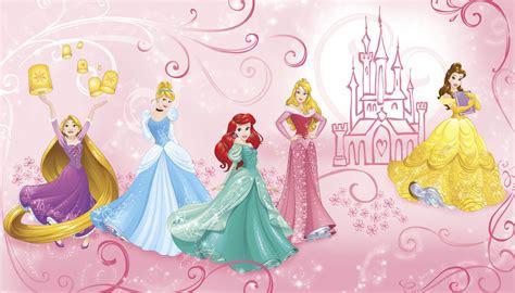 Rapunzel Wall Stickers disney princess enchanted wall mural cinderella ariel