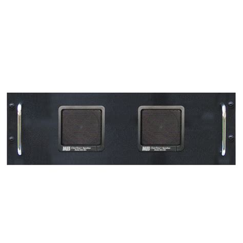 2 speakers 8 ohm rack mount fits collins many radios