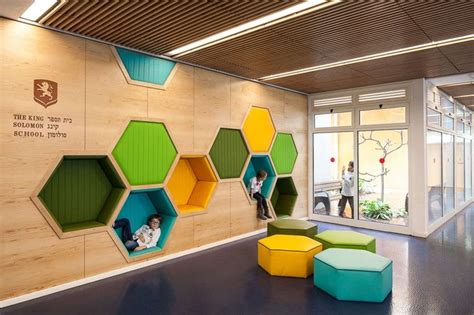 7 Playful Decorations by Awesome School In Israel With Playful Interior Http