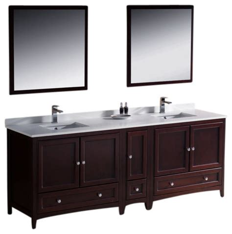 84 inch sink bathroom vanity mahogany