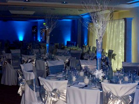 Blue And Silver Decorations by Royal Blue And Silver Wedding Decoration Ideas Royal