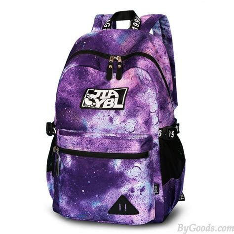 colorful backpacks colorful large galaxy school rucksack universe polyester