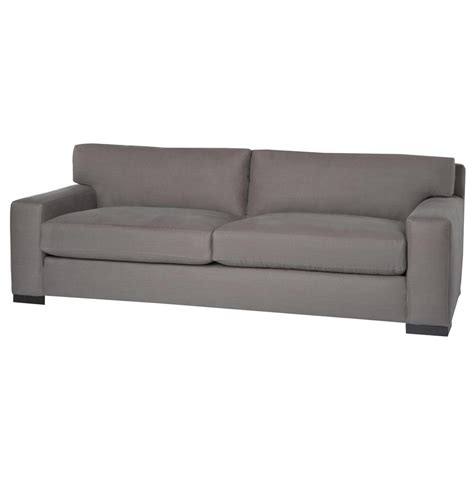 feather down couch cisco brothers loft masculine modern classic grey steel