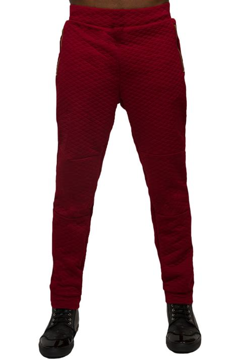 Quilted Joggers by Quilted Joggers Pureatlanta