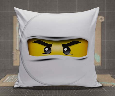 Lego Pillow by White Ninjago Lego Pillow Pillow From Dozepalace Lego