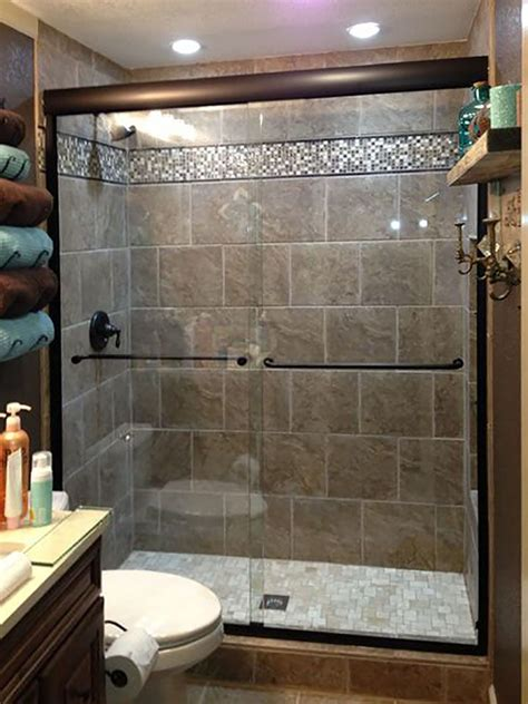 bathroom shower door ideas upstairs bath conversion from tub shower to shower with