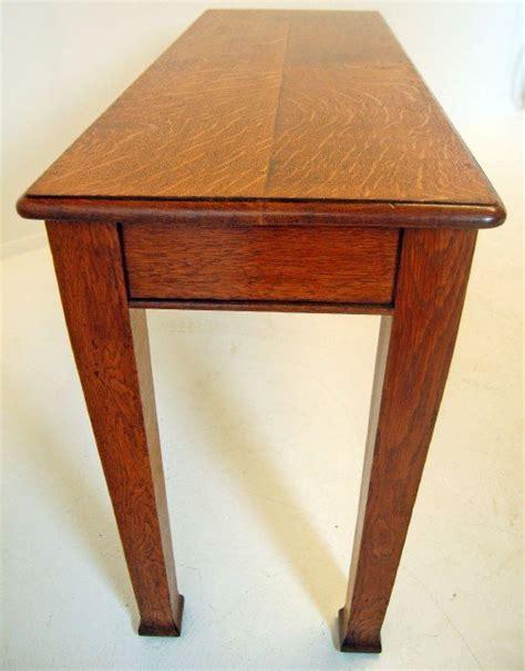 narrow sofa side table english oak hall table library antique sofa side narrow