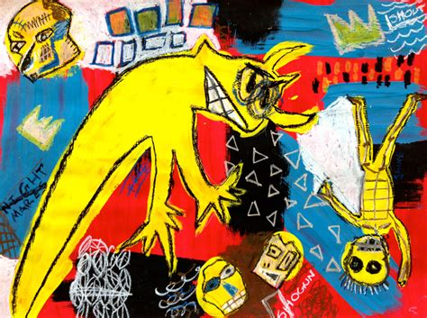 born posthumously meaning jean michel basquiat z 243 calo poets