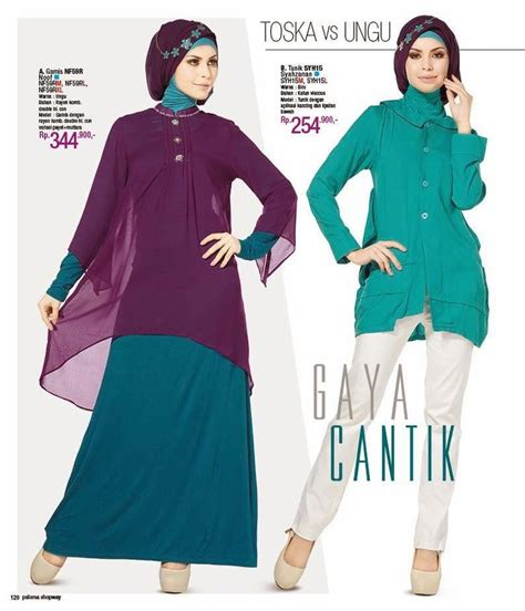 Gamis Syari Busana Muslim Baju Pesta Maxi Dress Abaya Blouse Brukat butik jeng ita produk busana dan fashion cantik terbaru baju muslim gamis pesta butik baju