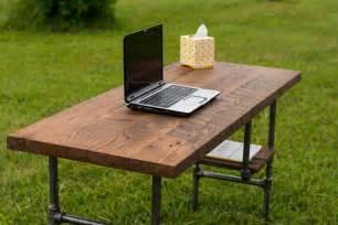 Diy Rustic Desk Reclaim Wood Desk Barn Wood Table Computer Desk Home