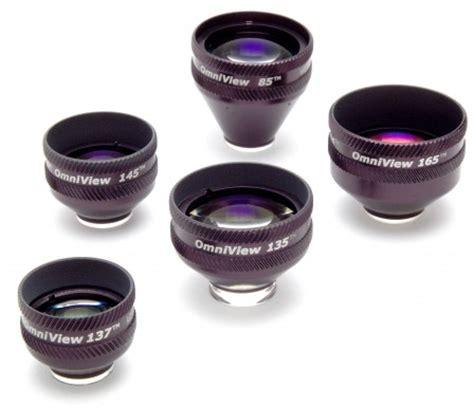 Optics Of Slit L by Carleton Optical Ion Omniview 165 Contact Slit L Lens