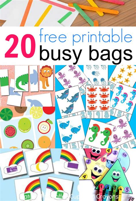 what works for at work four patterns working need to books 20 free printable busy bags coffee cups and crayons