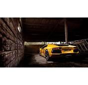 Yellow Lamborghini Aventador 2 Wallpaper  HD Car Wallpapers
