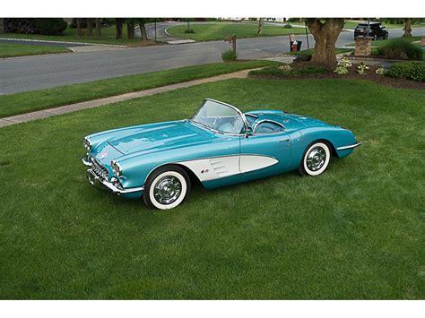 classic cars corvette 1959 chevrolet corvette classiccars journal