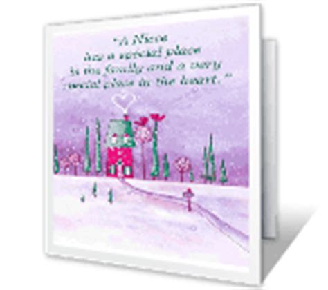 christmas cards  niece nephew print   blue mountain