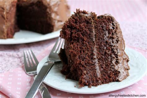 decadent  allergy    chocolate cake allergy  test kitchen  living