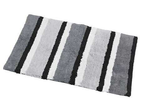 Black And White Striped Bath Mat by Black And White Bath Rug Home Design Ideas