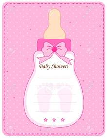 Pink Baby Shower Invitation Templates by Baby Shower Invitations For Templates Theruntime