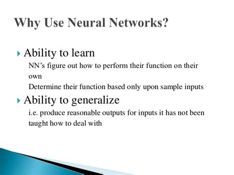 pattern classification using neural networks ppt artificial intelligence neural networks