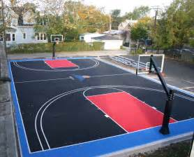 how to build a backyard basketball court wood dining