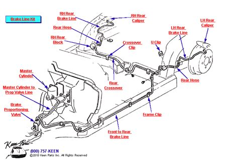 1998 Chevy Blazer Brake Line Diagram