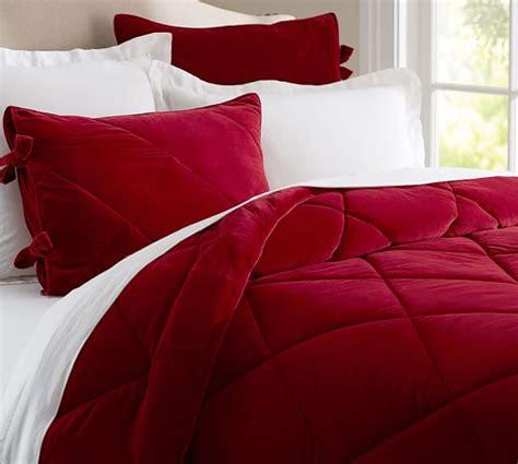 velvet bedding sets velvet comforter sham pottery barn