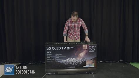 unboxing  lg cp oled tv youtube