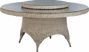 tables rondes de jardin salon de jardin table ronde resine qaland
