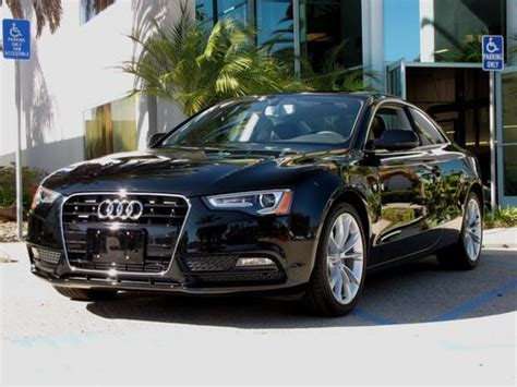 Buy Audi A5 Coupe by Buy Used 2013 Black Audi A5 2 0t Coupe Quattro Tiptronic