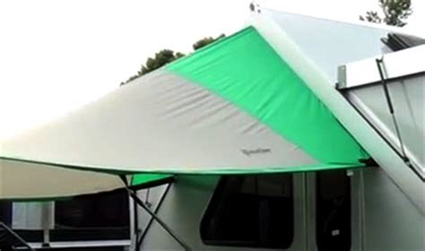 A Frame Awning by Aliner Lxe Travel Trailer 2017 A Frame Cers