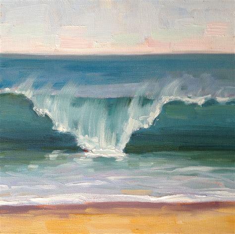 acrylic painting waves dnewmanpaintings artist i like