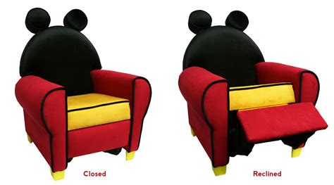 mickey mouse recliner children s furniture by miguel almena at coroflot com