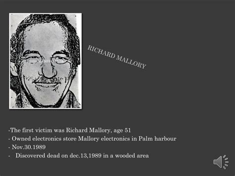 Richard Mallory Criminal Record Ppt Aileen Wuornos Powerpoint Presentation Id 1540637