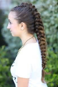 braided hairstyles on top of head dragon braid hairstyles for girls two one sided dutch