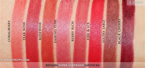 Brun Brun Magic Lipstick revlon lustrous lipsticks part 2 swatches s