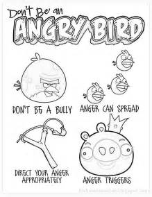 coping skills coloring pages coloring page don t be an angry bird my classroom