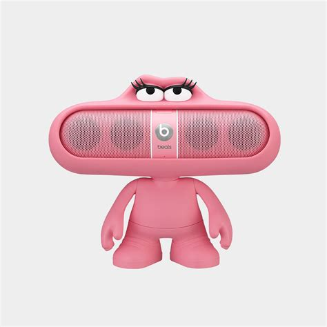 Pil Pink beats dude stand for pill portable speaker