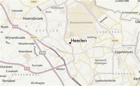 heerlen netherlands map heerlen location guide