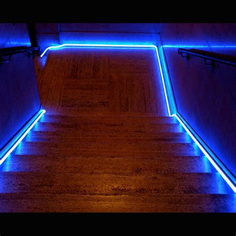 led strip lights for stairway design lighting ever