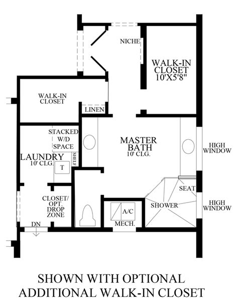 walk in wardrobe floor plan lakeshore executive collection the robellini home design