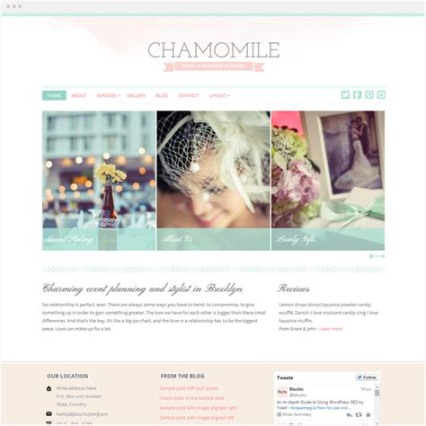 girly wordpress themes top 40 free premium feminine wordpress themes 2016