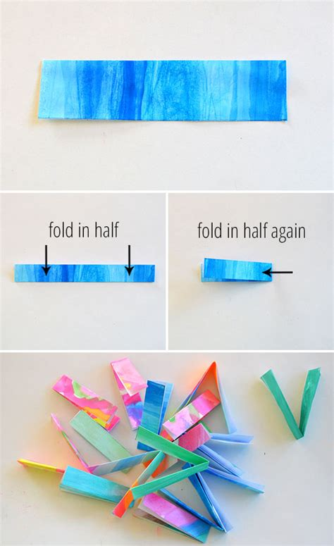 How To Make A Paper Bracelet - how to make folded paper bracelets picklebums